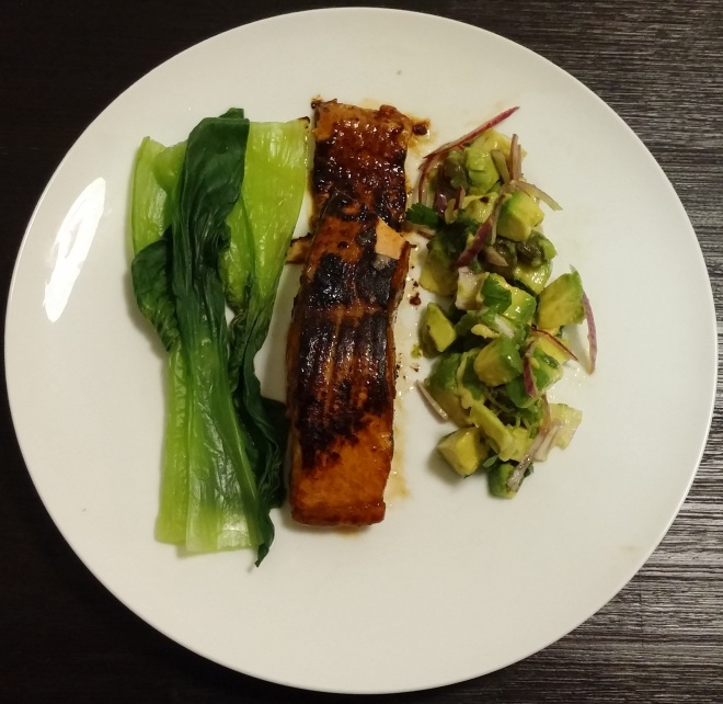Asian Style Grilled Salmon